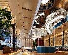 日照萨维尔皇家酒店-餐厅设计效果图